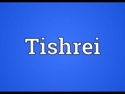 O mês de Tishrei