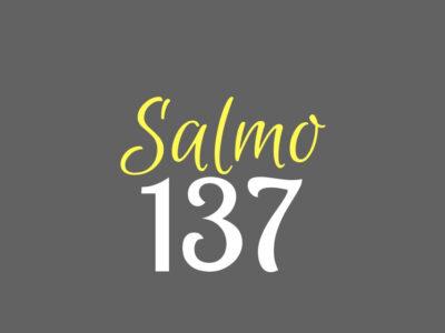 Salmo Cento e trinta e sete