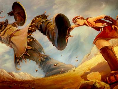 Lutando contra os gigantes